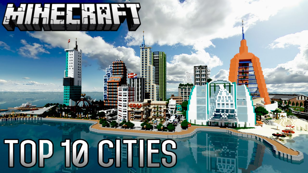 Top 1111 INSANE Minecraft Cities of ALL-TIME (11.11.11)