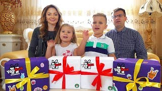 Open Surprises Gifts from YouBox for Diana, Roma, Mom and Dad. What's inside?