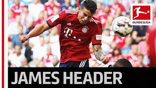 Air James - First Headed Goal for Bayern
