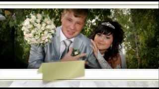 Образец меню свадебного DVD сделано в adobe after effects