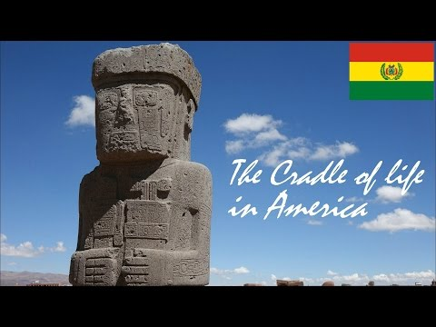Archeological Ruins in South America: The Lost Ancient City of Tiwanaku in Bolivia