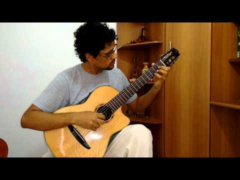 Assum Preto Luiz Gonzaga  - Violão Solo: Adriano Oira