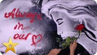 Kseniya Simonova's STUNNING Princess Diana tribute | BGT: The Champions