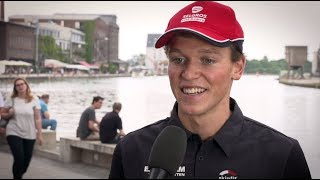 1. Bitburger 0,0% Triathlon-Bundesliga Münster 2018 - Lasse Lührs im Interview