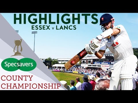 Champions Essex In Three Day Thriller v Lancashire - County Championship 2018 Highlights
