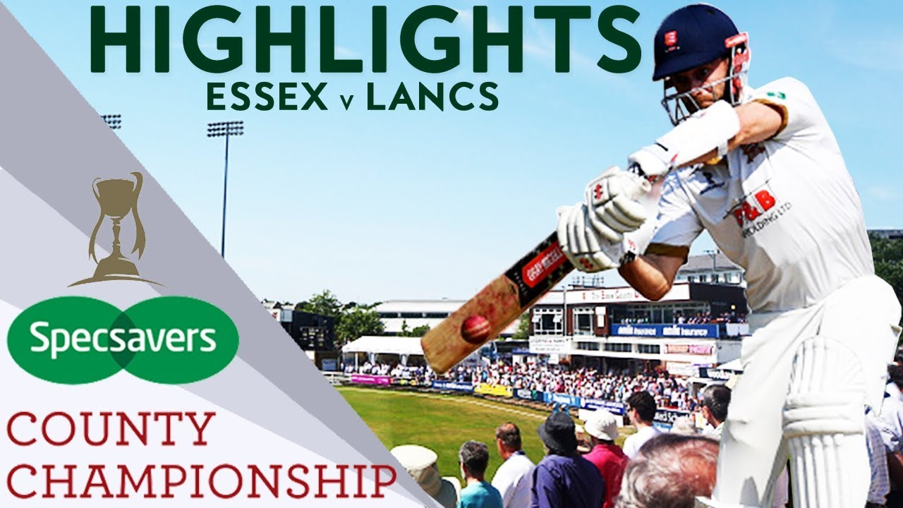 Champions Essex In Three Day Thriller v Lancashire  - County Championship 2018 Highlights