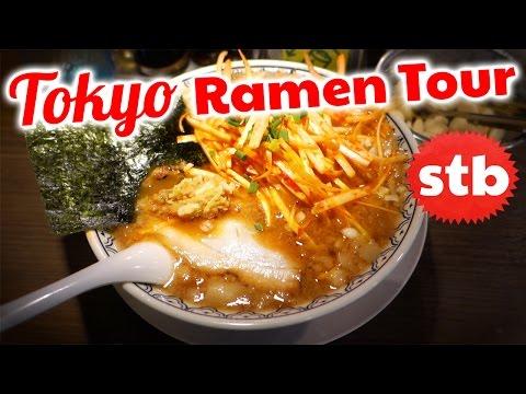 Japanese Food Tour: BEST Ramen in Tokyo, Japan