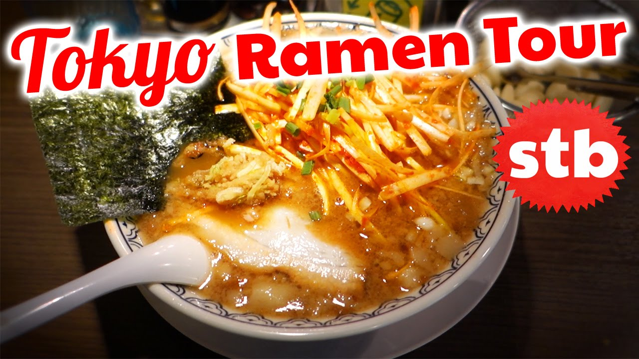 Japanese food tour best ramen in tokyo japan youtube for Asian tokyo japanese cuisine