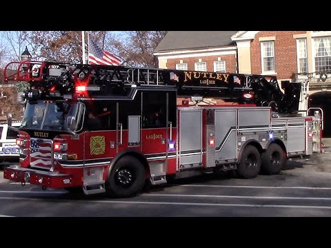 Fire Trucks Responding Compilation Part 36 - Firsts Of The Year