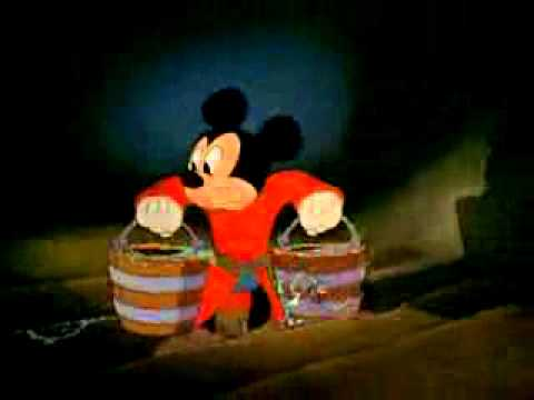 Fantasia 1940   The Sorcerer's Apprentice   Walt Disney Cartoon Movie