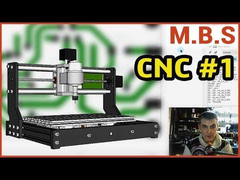 Изготовление печатной платы на станке ЧПУ в деталях Часть1 CNC3018