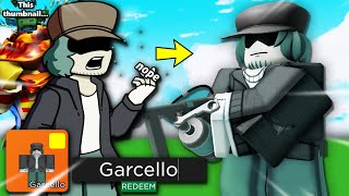 So arsenal made a FNF GARCELLO skin.. (Roblox Arsenal, but it's PghLFilms)