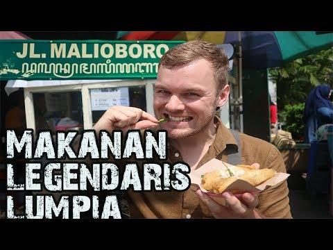 Terenak di Malioboro Lumpia Jogja! BuleKulineran| FVLOG #131