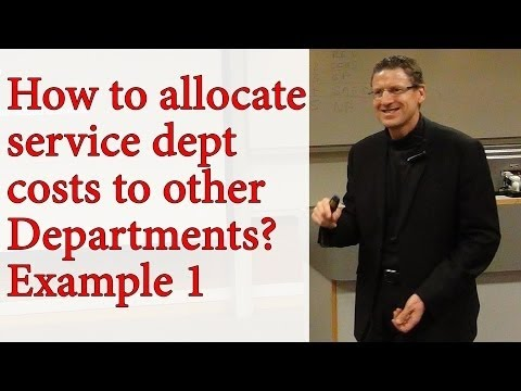 CMA - Strategic MA - W4 - Service Dept Cost Allocation Example 1