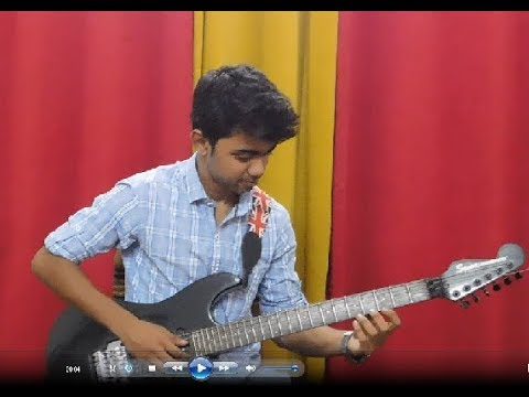 Slash – Anastasia (guitar cover by Mehul Sarkar)