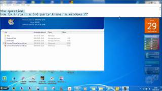 How to make your own custom themes in windows 7 - tutorial