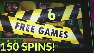 150 SPINS ON HUFF N PUFF! FREE PLAY CONVERSION PART 3!