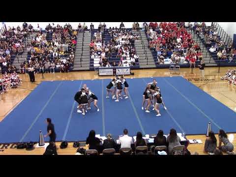 Turner Ashby High School at Harrisonburg Blue Streak Cheerleading Invitational 2019