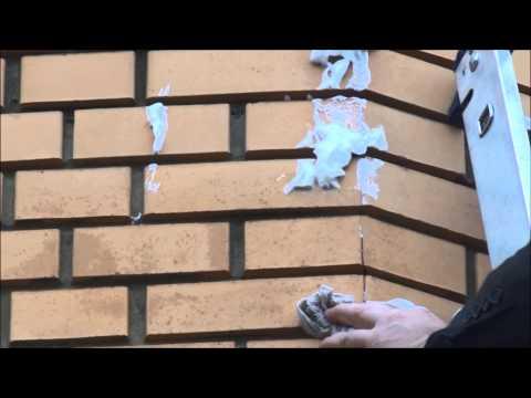 Утепление стен пеноизолом   Видео клиента