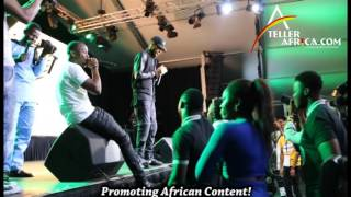 Phyno Performs  Connect on Stage with Ushbebe as Back-up Singer!