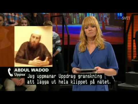 SVT Debatt - Kvinnosynen I Moskeerna (2012)