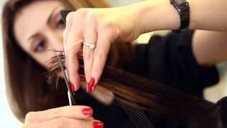 видео Цветное мелирование на темные и светлые волосы