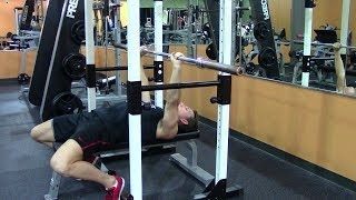 Max Effort Powerlifting Bench Press - Hasfit Powerlifting Workouts - Powerlifting Chest Workout