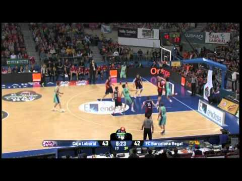 Caja Laboral vs Barcelona (69-80) - Copa del Rey Semi Final 2013 - HIGHLIGHTS from YouTube · Duration:  2 minutes 57 seconds
