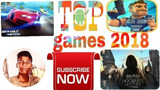 Top 10 games (latest 2018 for android )|||| 100% working links |||| by gaming chamms