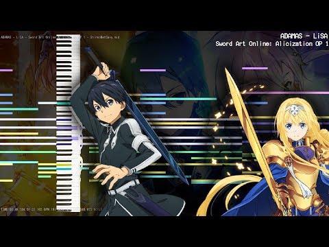 【MIDI DL】Sword Art Online: Alicization OP 1「ADAMAS - LiSA」| SC-88 MIDI Cover / Remaster