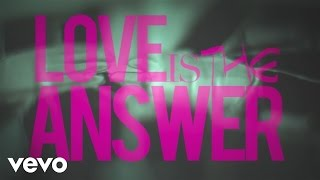 Aloe Blacc - Love Is The Answer (Lyric Video)