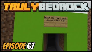 Best XP Farm Prowl Trap! - Truly Bedrock (Minecraft Survival Let's Play) Episode 67