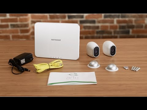 How To Install Arlo Wire Free Smart Home Security Cameras