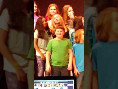 Kresson School 5th grade chorus concert
