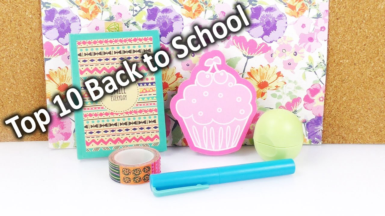 Unsere 10 Back to School MUST-HAVES | Coole Ideen, DIY & Deko ...