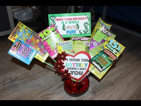 Diy Lottery Gift Idea Pinterest Inspired
