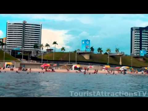 tourist places in Manaus brazil Ponta Negra hotels from boat touristattractionstv