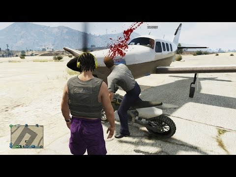 Gta online funny moments with friends! (gta 5 multiplayer funny