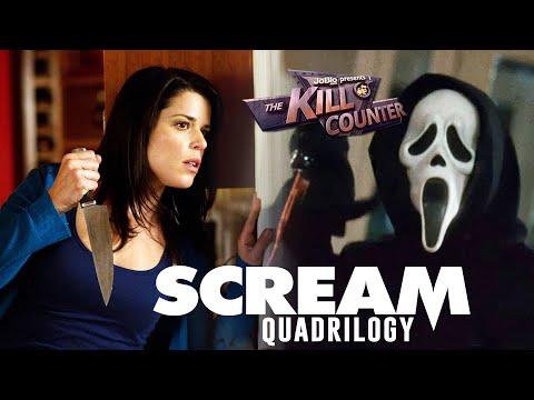 Scream Quadrilogy - The Kill Counter