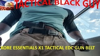 Kore Essentials Edc X1 Gun Belt Youtube We have 37 kore essentials coupons today, good for discounts at koreessentials.com. youtube