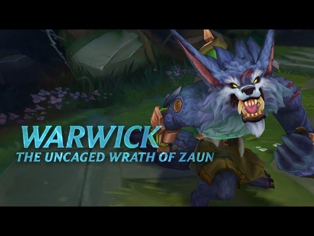 Warwick Champion Spotlight | Gameplay - League of Legends