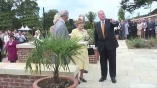 The Queen opens The Queen Elizabeth Garden at Dumfries House