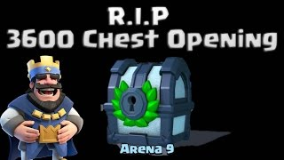 🔵 3600 Tournament Chest Opening Clash Royale 🔵 A Legendary Surprise...or not