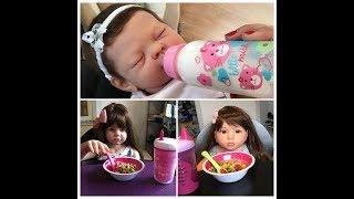 Night Routine Of 2 Reborn Children & A Baby!