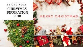 CHRISTMAS DECOR 2018 | LIVING ROOM DECOR | WHITE CHRISTMAS | DreamersReality with Kaur