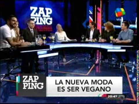 Martín Amestoy, en contra de Calu Rivero porque no come carne
