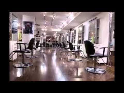 Hair salon decor