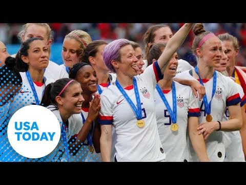 U.S. Women's Soccer Team parade in New York City (LIVE) | USA TODAY