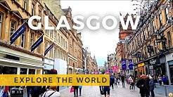 Walking in Glasgow, UK