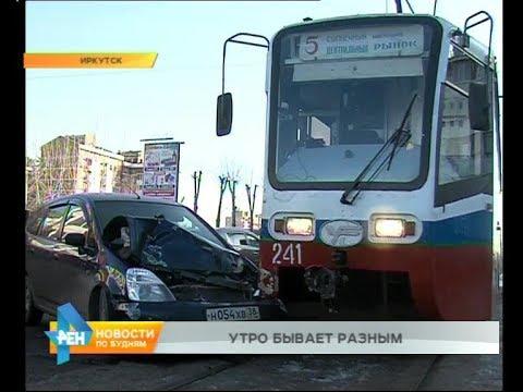 День невезения в исполнении одного иркутского водителя